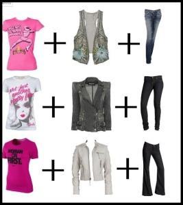 Jeans é a peça que não pode faltar no seu guarda roupas.Dica JEANS com lavagem escura é perfeito para quem esta acima no peso.