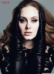 Adele na Vogue em 2012