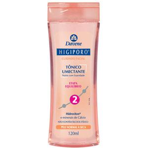 Tonificante Facial Higiporo é cheiroso e eficiente.