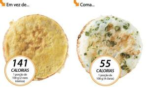 Omelete de Claras Light